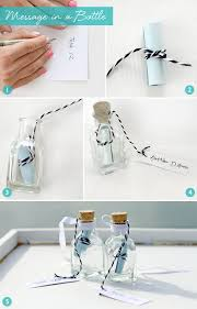 diy message in a bottle how to make your message in a bottle invitation crafts