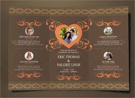 folding wedding invitations 18 folded invitation templates free premium templates