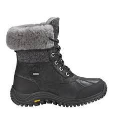 womens ugg hiking boots ugg s adirondack ii wool boots black 1008465 blk