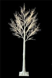 6ft christmas twig tree pre lit 120 led warm white lights indoor