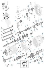 yj wrangler ax4 ax5 transmission 4 wheel parts