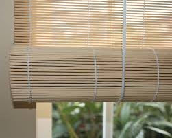 amazon com natural bamboo matchstick roll up window blind 30 inch