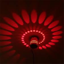 Wall Lighting Sconce Tanbaby Creative Led Wall Lamp Rgb Modern Light Fixture Luminous