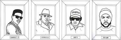 gangsta coloring pages february 2008