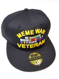 Meme Hats - meme war veteran hat snake hound machine