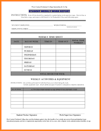 student daily report template 8 work report template bookkeeping resume
