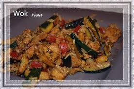 recette cuisine wok recette de wok poulet légumes riz