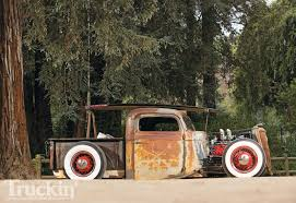 Old Ford V8 Truck - 1936 ford truck ford flathead v8 engine truckin u0027 magazine