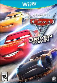 amazon com cars 3 driven to win wii u video games
