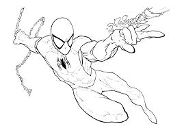 print u0026 download coloring ultimate spider man