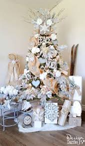 winter glam tree tree