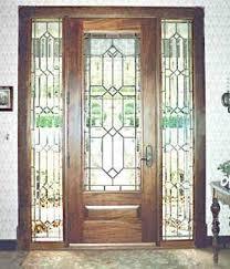 all glass front door dblhsed