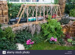 Train Show Botanical Garden by Annual Holiday Train Show In The Enid A Haupt Conservatory At