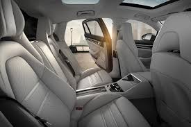 porsche panamera 2017 interior 2017 porsche panamera turbo interior rear seats door open autobics