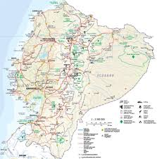 Magellan Route Map by The Northern Andes Expedition Maps