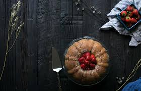strawberry bundt cake a giveaway savory simple