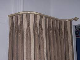 Accessories Kirsch Curtain Rods Intended by Peaceably Tension Curtain Rods Neverrust Aluminum Tension Shower