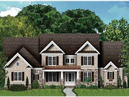 Luxury Craftsman Style Home Plans Craftsman Home Plans Two Story Luxury Craftsman House Plan 049h