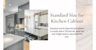 what is the standard size for base kitchen cabinets meru timber standard size for base kitchen cabinet is
