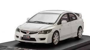 1 43 mark 43 honda civic type r fd2 championship white