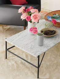 Pink Coffee Table Outline Rectangular Coffee Table Design Within Reach