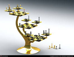 furniture wonderful dragon chess set with gold color and amazing