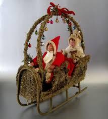 526 best antique santas decor feather trees images