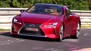 lexus lc 500 convertible price 2018 lexus lc 500 sounds pretty good on the nurburgring
