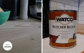 Diy Wood Kitchen Countertops Diy Wood Plank Countertop No More Dead Space Door Sixteen