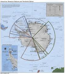 map of antarctic stations polar regions and oceans maps perry castañeda map collection