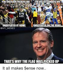 Funny Packers Memes - the green bay packers are thedallascowboysare 12 undefeated on the