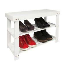 Bench Shoe Storage Shoe Storage Bench Ebay