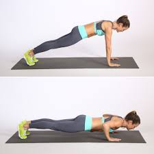 chair step ups 7 minute hiit workout popsugar fitness photo 5