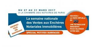 chambre des notaires ile de semaine nationale des ventes aux enchères notariales 2017 notaires