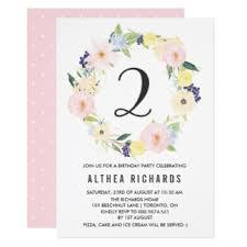 spring birthday party invitations u0026 announcements zazzle