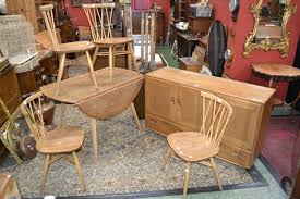 an ercol dining room suite comprising four ercol for john lewis