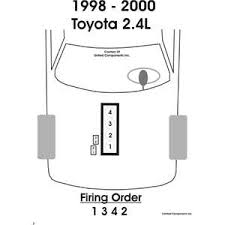 1998 toyota tacoma spark plug wire diagram wiring diagram and