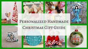 handmade personalized gifts handmade christmas gift guide