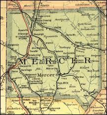 mercer map mercer county pennsylvania railroad stations