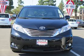 lexus stevens creek repair pre owned 2016 toyota sienna xle minivan mini van passenger in