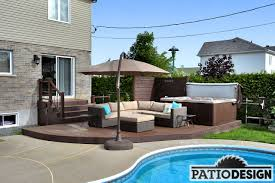 House Patio Design by Design Construction And Installation Of Trex Terraces