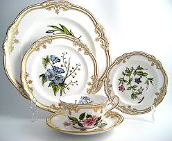 spode stafford flowers 5 place setting spodwstafl5pc