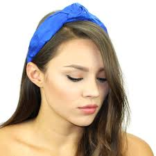 silk headband silk knot headband womens top knot headband silk headband