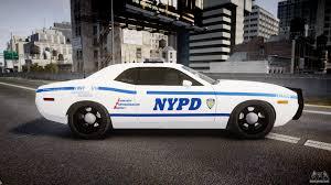 Dodge Challenger Police Car - dodge challenger nypd els for gta 4