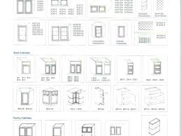 Kitchen Cabinet Dimensions Kitchen Cabinet Sizes Chart Memsaheb Net