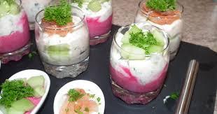 cuisine verrine recette verrine de betterave et concombre 750g