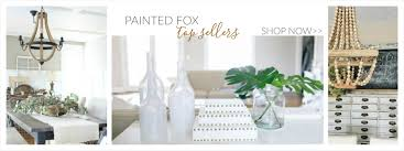Fox Home Decor Painted Fox Home For All The Spaces Where You Live Your Lovely