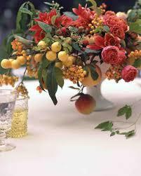 fruit centerpieces lush fruit and flower wedding centerpiece flower arrangements