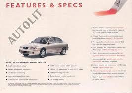 2001 hyundai elantra manual foreign auto hyundai 2001 hyundai elantra brochure