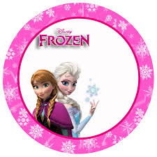 frozen pink free printable toppers stickers bottle caps